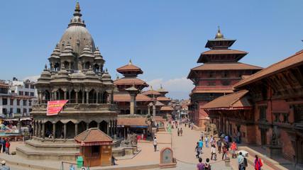 Népal 3 Katmandu Bahktapur Patan