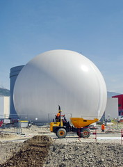installation d'une bulle de gazoduc