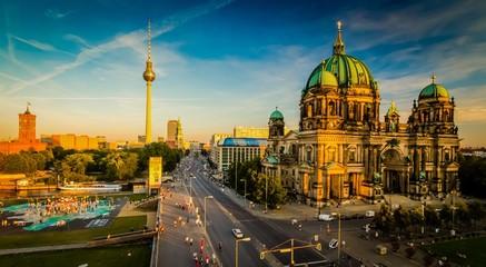 Poster Berlin Berlin - city view
