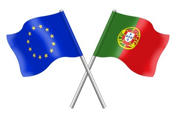 Flags : Europe and Portugal