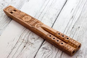 Flute double-barreled