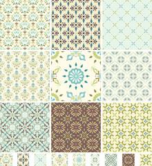 Seamless Patterns Damask