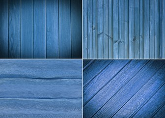 set wooden texture background