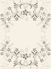 floral, blüte,blatt,blätter, hintergrund, rahmen,grußkarte,