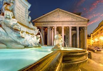 Foto op Plexiglas Rome Pantheon - Rome