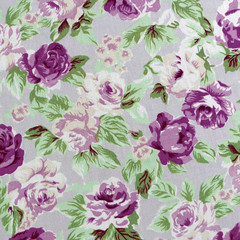 Fabric Rose Pattern