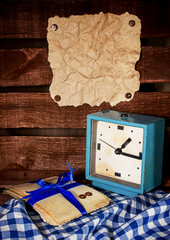 Старый будильник, фотографии и кус