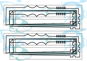 Papier Peint - Font Symbol illustration