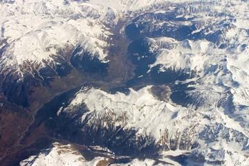 Survol des Pyrénées