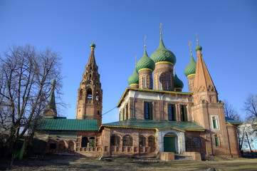 Church of St. Nicholas the Wet. Yaroslavl, Russia