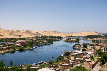 Life on the River Nile in Egypt
