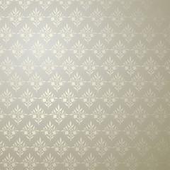 Silber Ornament Tapete Silver Wallpaper