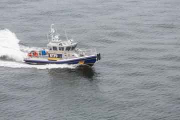 NYPD Harbor Patrol Boat
