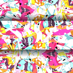 abstract multicolored background. Vector illustration. EPS 10