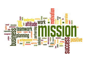 Mission word cloud
