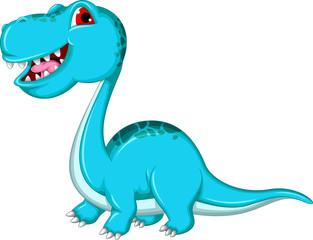funny Brontosaurus dinosaur