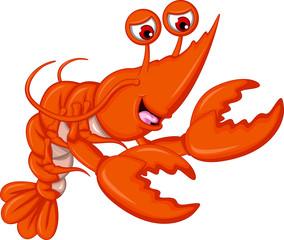 Funny Shrimp cartoon