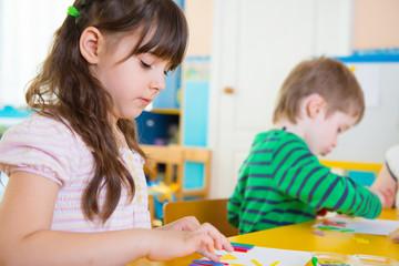 Childrenat kindergarten