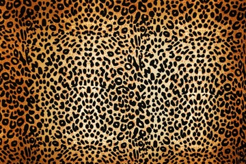 Photo sur Aluminium Leopard leopard pattern