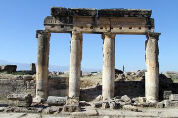 Columns in Hyerapolis