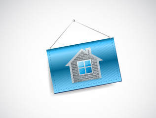 home banner illustration design