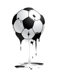 ball schmelzend
