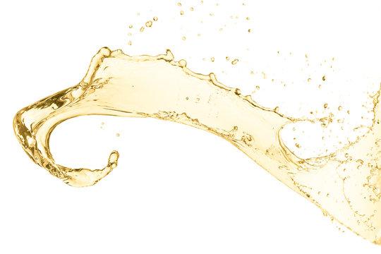 splash of white wine