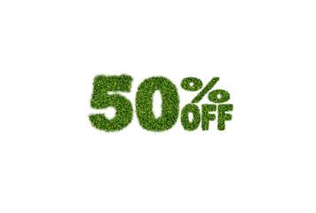 50% off discount sale icon