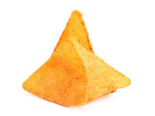 Salted corn snack