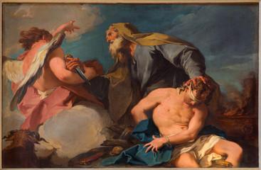 Vneice - Abraham and Isaac in church San Francesco della Vigna Fotomurales