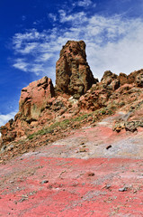 Volcanic formation.Teide, Tenerife