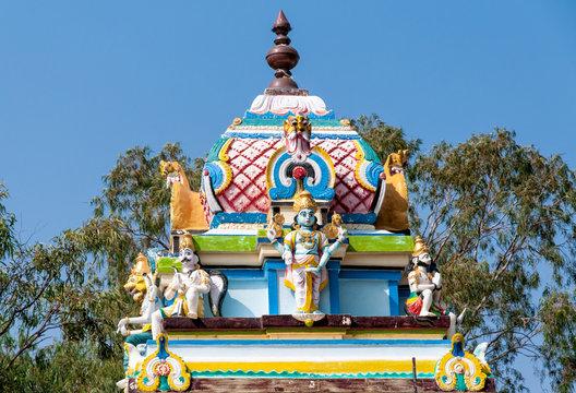 Sai Baba Temple of Puttaparthi, India