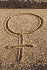 Astrologisches Symbol Venus