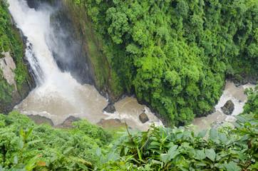 Heo Narok Waterfall, Khao Yai national park. Nakhon Na Yok a Province, Northeast of Thailand.