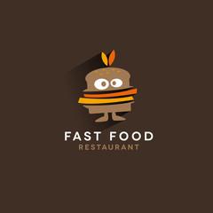 FAST FOOD LOGO, logo restaurant