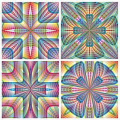Modern South American Art Pattern