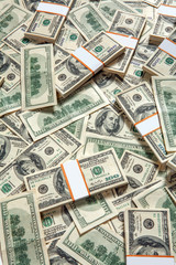 Dollar bank note money background