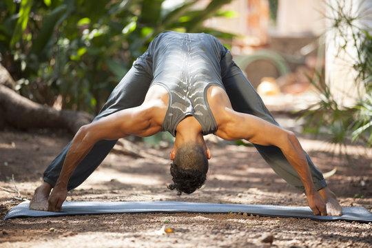 Yoga in nature.