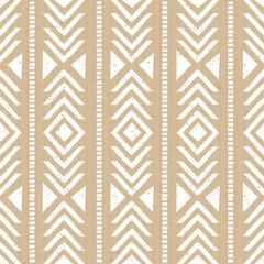 Fototapete - Seamless Cardboard Paper Tribal Background