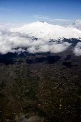 Mount Etna volcano in Sicily