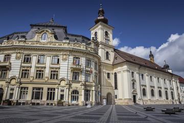 Large Square in Sibiu Romania