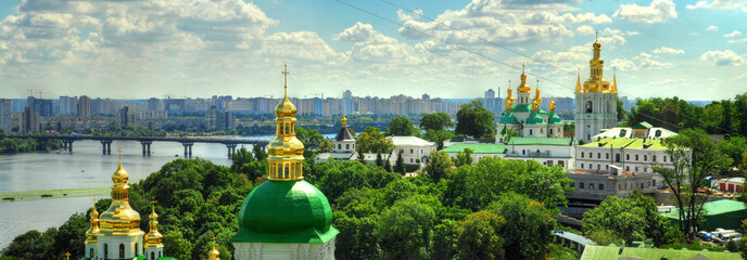 Wall Murals Kiev panorama of Kiev