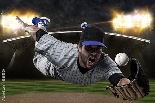 Wall mural Baseball Player