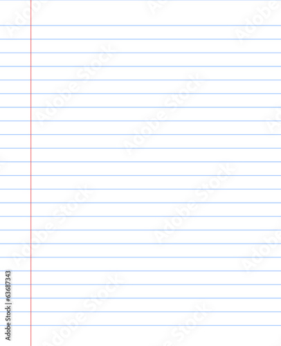 blank notebook paper sheet with lines stock image and royalty free
