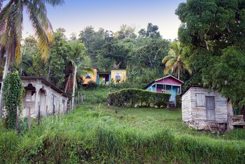 houses to rural district.Jamaica