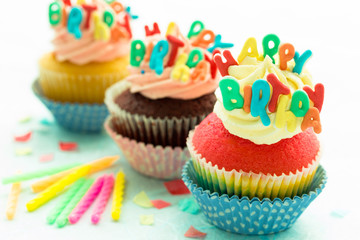 cupcakes happy birthday