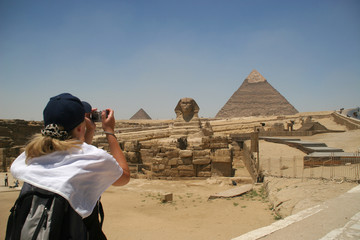 Pyramid in Giza - Cairo, Egypt