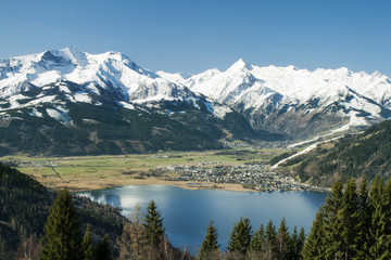View towards the Kitsteinhorn