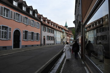 Street view in Strasbourg, France