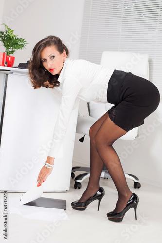 бизнес леди и садовник порно